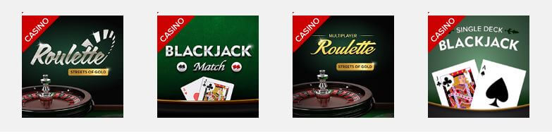 casino games Virgin Games