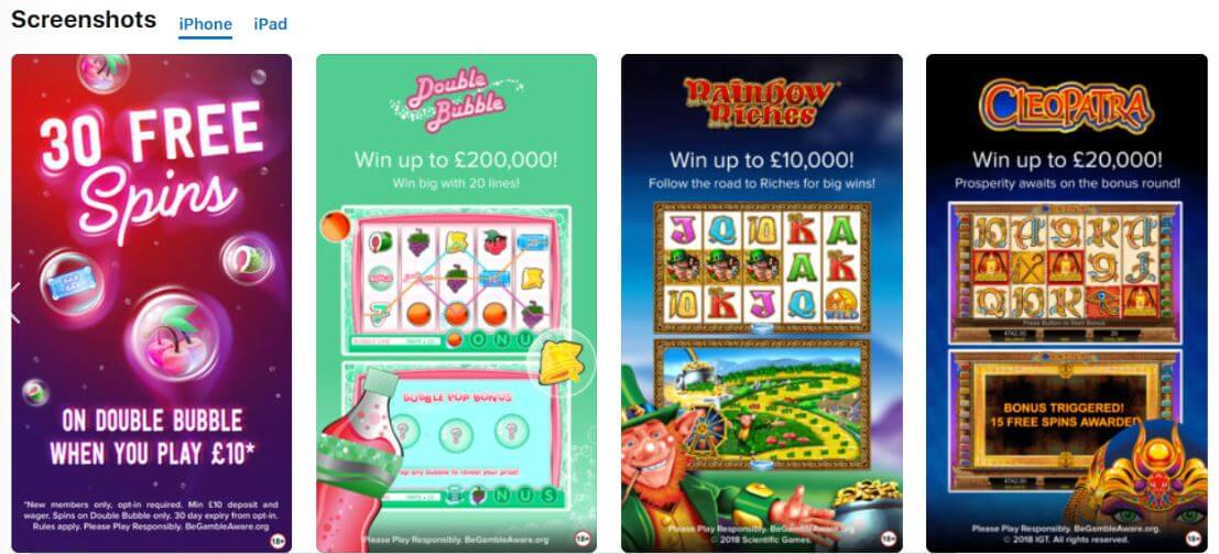 MOBILE GAMES AVAILABLE