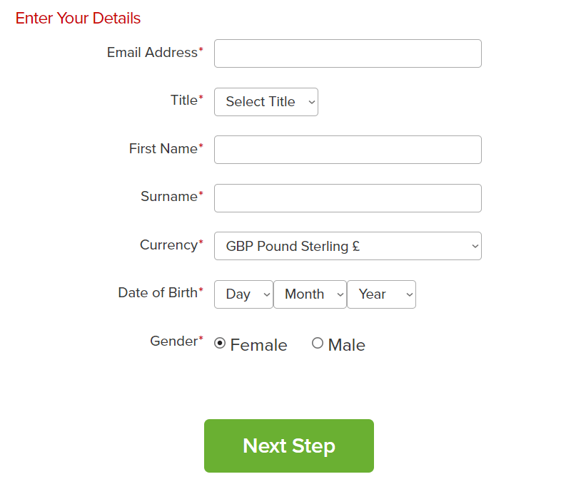 VIRGIN CASINO REGISTRATION