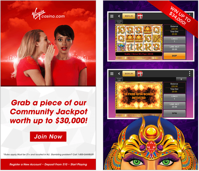 Casino games on the go