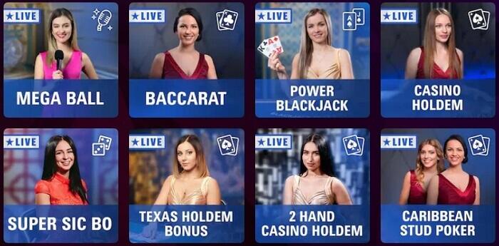 PokerStars Live Dealer