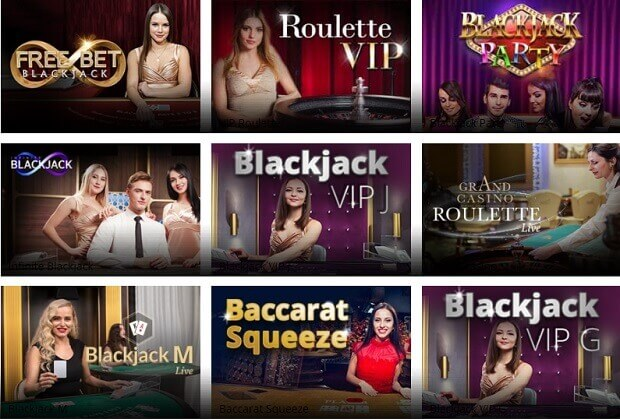 Greenplay Live Casino Games