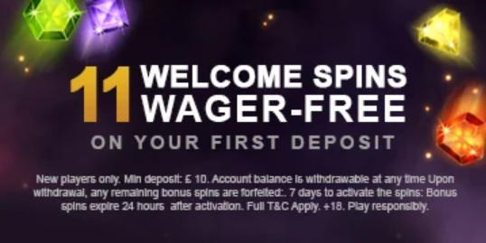 Videoslots Live Casino Bonus